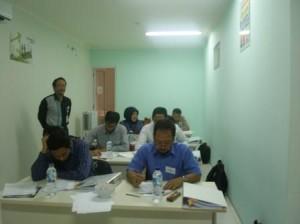 Suasana Ujian Tertulis AK3 Umum BNSP