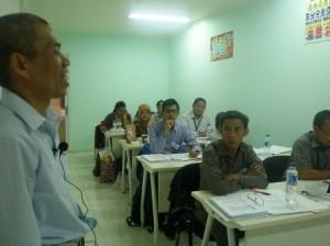 Suasana Belajar Training AK3 Umum BNSP