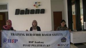 Training Behavior Based Safety